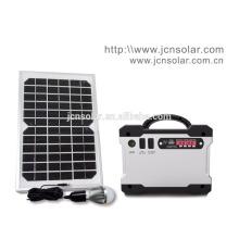 DC solar iluminação bateria solar kit de energia solar para uso doméstico