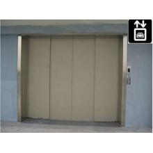 Elevador de carga de alta calidad con puerta opuesta