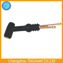 De buena calidad de soldadura enfriada por gas tig antorcha WP-12 tig serie