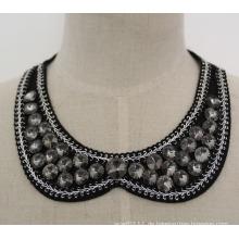 Hochwertige Runde Kristall Halsband Halskette Kragen (JE0032-2)