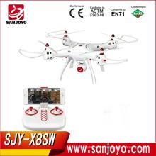 Nueva llegada Syma X8SW WIFI FPV Drone con 720P HD cámara PK Syma X8SC dron