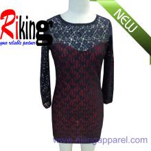 Fashion Ladies Garment Panel Dress