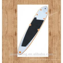 Tabla que practica surf inflable de alta densidad del PVC del stich de la gota del grado militar 2016