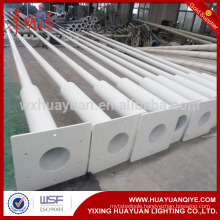galvanized steel street lighting columns