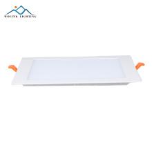 CE de haute qualité 12w dimmable mini RVB led plafond panneau lumineux 30x30