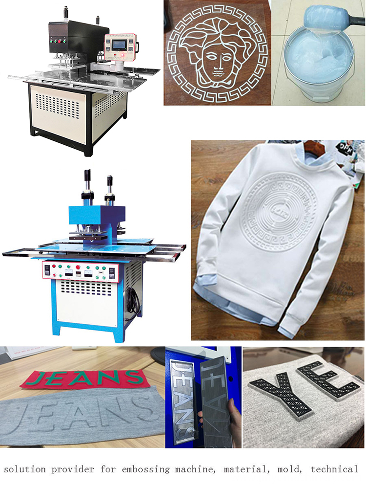 Silicon Embossing Machine