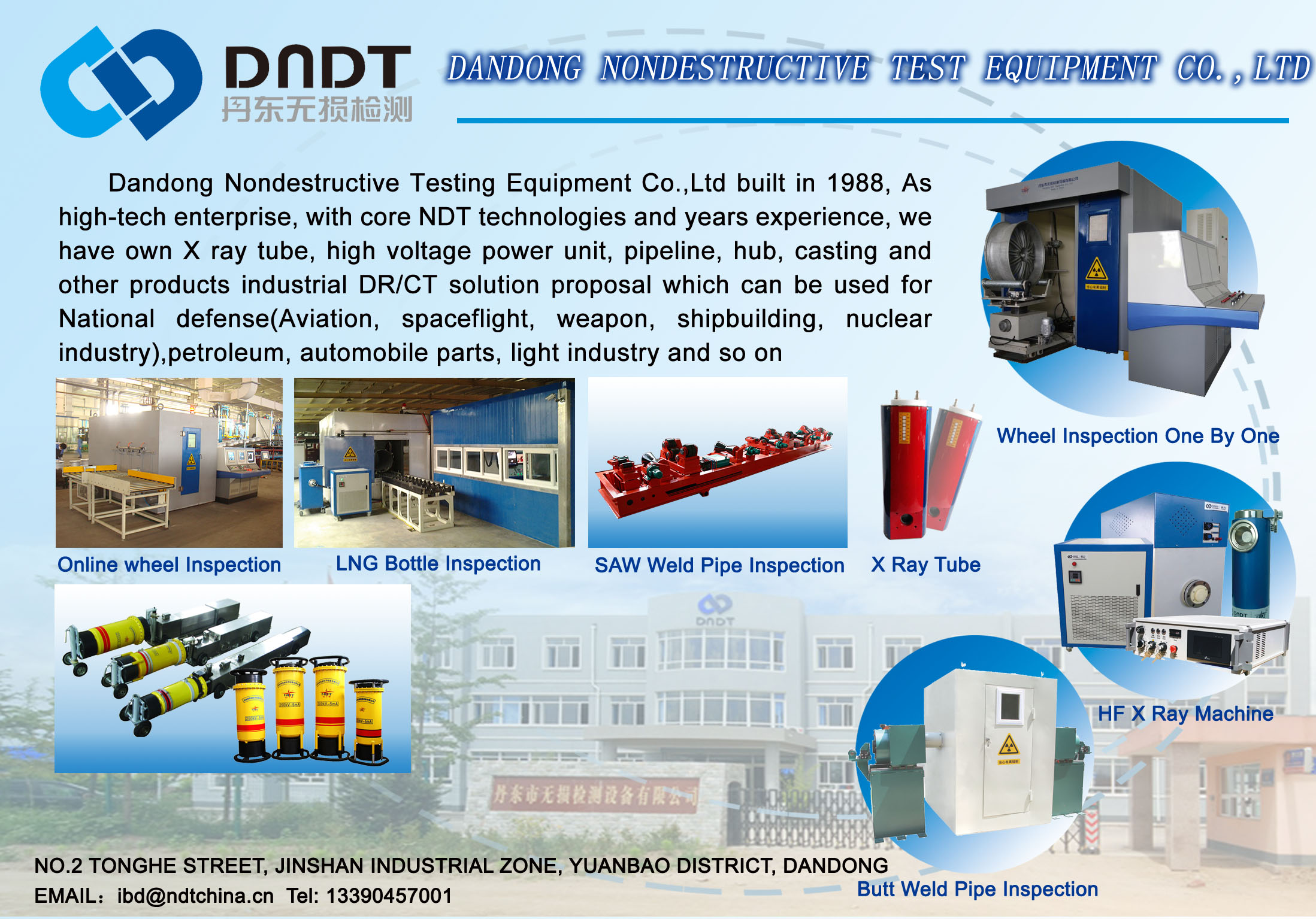 Hub NDT Inspection