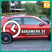 autocollant de publicité imprimant l'autocollant de vinyle de voiture / autocollants libres de bulle pour des voitures