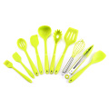 10pcs Colorful Silicone Kitchen Utensils