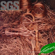 SGS 99.9% 99.99% Copper Wire Scrap Copper Scrap