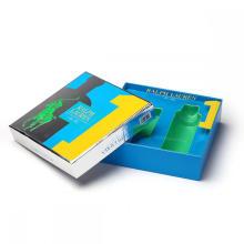 Deckel und Base Cosmetic Paper Box mit Fach