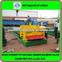 Machine de formage de rouleaux de carrelage de Nigéria fabriquée en Chine