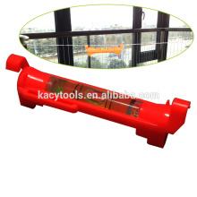 Medidor de nivel de burbuja de plástico tipo pluma