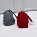 Wholesale Winter hat for kids Children hat knitted woolen yarn warm caps