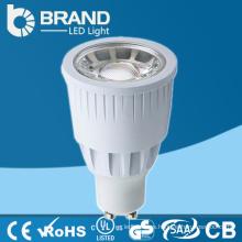 Las ventas al por mayor COB refrescan / el blanco caliente LED Blub la luz Gu10 proyector de la lámpara Gu10 COB LED