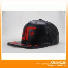 Chapéus novos do Snapback do bordado 3D com seu logotipo