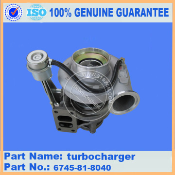 PC300-8 TURBOCHARGER 6745-81-8040