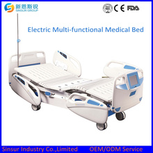 Hot Sale Electric Five Crank Adjustable Medical Bed Price