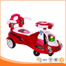 Swing Car Ride on Toys with Push Handle