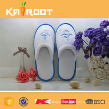 OEM service customized producer washable white cheap hotel slippers for guests