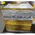 Gâteau Tambours or et argent en forme de coeur gâteau avec SGS (& C-K009)
