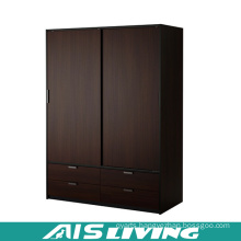 Custom Made Plywood Sliding Doors Bedroom Wardrobe Closet (AIS-W259)