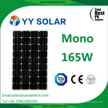 Ce TUV 165 Watt 160watt Mono Solar Power