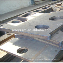 Cutting thick and width steel plates