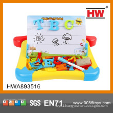 Children Learning Toy Magnetic Letters And Stand Writing Board