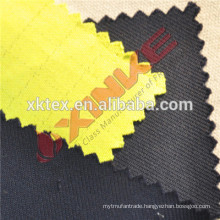 Wind proof fabric with moisture permeability for workwear