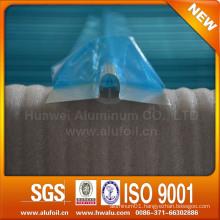 Aluminium heat transfer plate for underfloor heating system