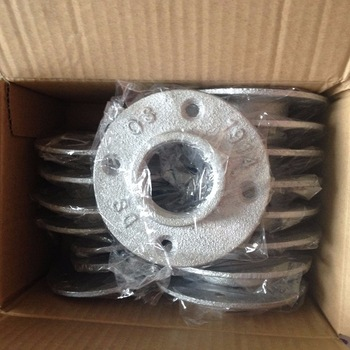 Package Of Galvanized Floor Flange