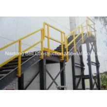 Productos de escalera y plataforma FRP que utilizan diferentes perfiles de pultrusión