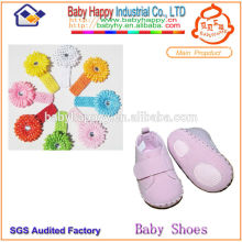 High Quality Work Footwear and headband for baby