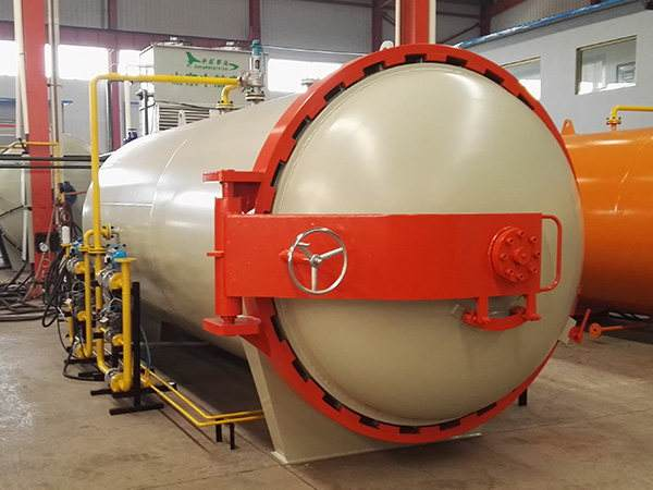 Hot Air Rubber Autoclave