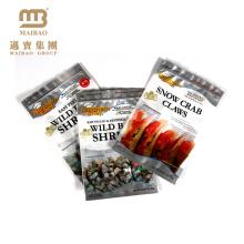 Sacs en plastique refermables de poche de tirette de fermeture à glissière en plastique de papier d'aluminium de PE sacs faits sur commande pour la nourriture