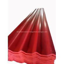 Nouveau matériau anti-UV en feuille de toiture MgO