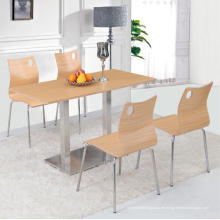 Esszimmermöbel-Speisetisch-Satz mit vier Leuten