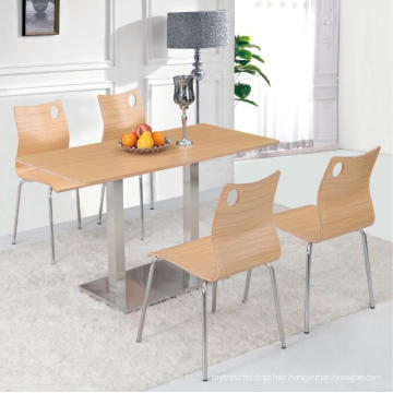 Four People Dining Room Furniture Dining Table Set