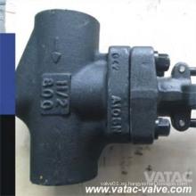API602 Válvula de Globo de acero forjado con capuchón atornillado con Bw / Sw / NPT