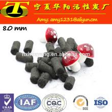 Ningxia 1000 mg / g de carbón yodado basado en compradores de carbón activado columna