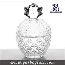 Botella de vidrio transparente para caramelos (GB1834XX)