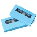 Human Hair Strip False Eye Lashes Brand Packaging