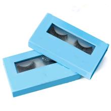 Empacotamento do tipo dos chicotes de olho falsos da tira do cabelo humano