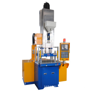 Hybrid injection molding machine for precision gear