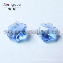 Verschiedenen Schneeflocke Glasperlen Crystal Jewelry Components