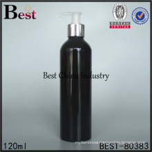 hand painted spray black aluminum bottle