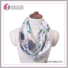 2016 Tinte und Wash Malerei Vintage Baumwolle Infinity Schal (SNBL0191)