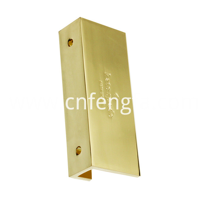 Supply zinc alloy business card holder
