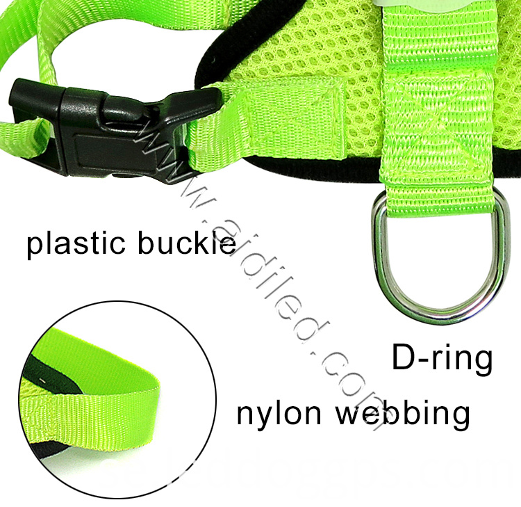 Chest Led Harness For Dogs
